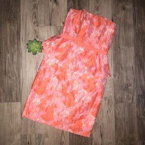 Women's Eva Franco Peplum Dress Sz 6